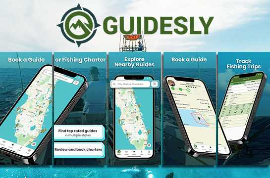 Download the Guidesly Fishing App
